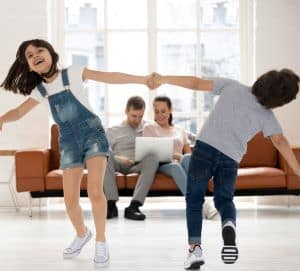 home schooling dance activity