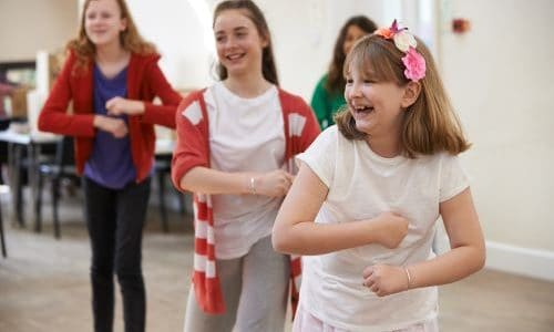 dance canon in the primary classroom