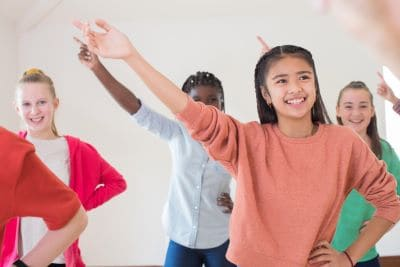 create a dance for Primary schools