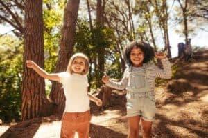 dancing outdoors
