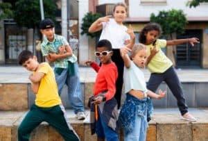 dancing at school