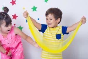 children dancing at school